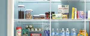 Linen + Pantry Storage